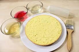 Bagna per torte alcolica analcolica alla frutta e la più