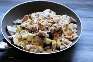 Cestini di patate con melanzane ammollicate delizie - Forno a microonde piccolissimo ...